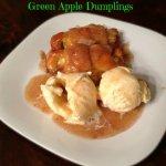 Green Apple Dumpling Recipe