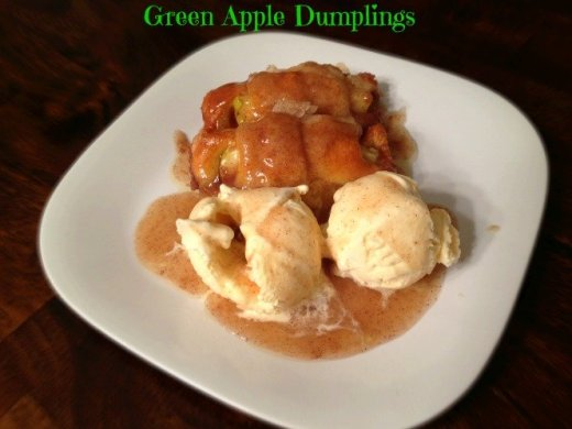 Green Apple Dumplings
