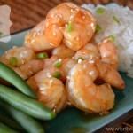 spicy hoisin shrimp