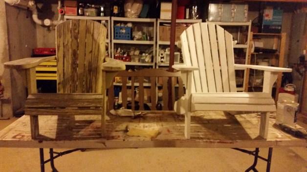 adirondack chairs DIY