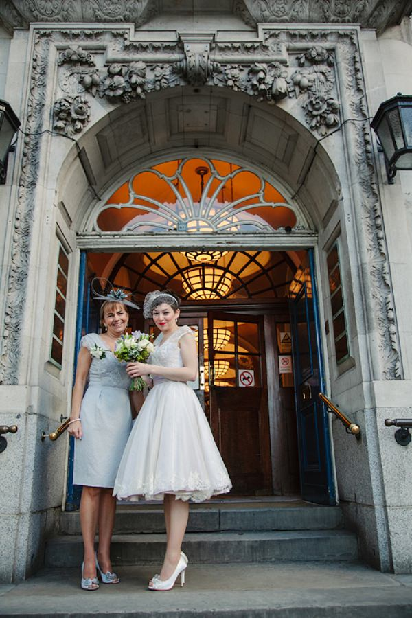 Joanne Fleming wedding dress bride