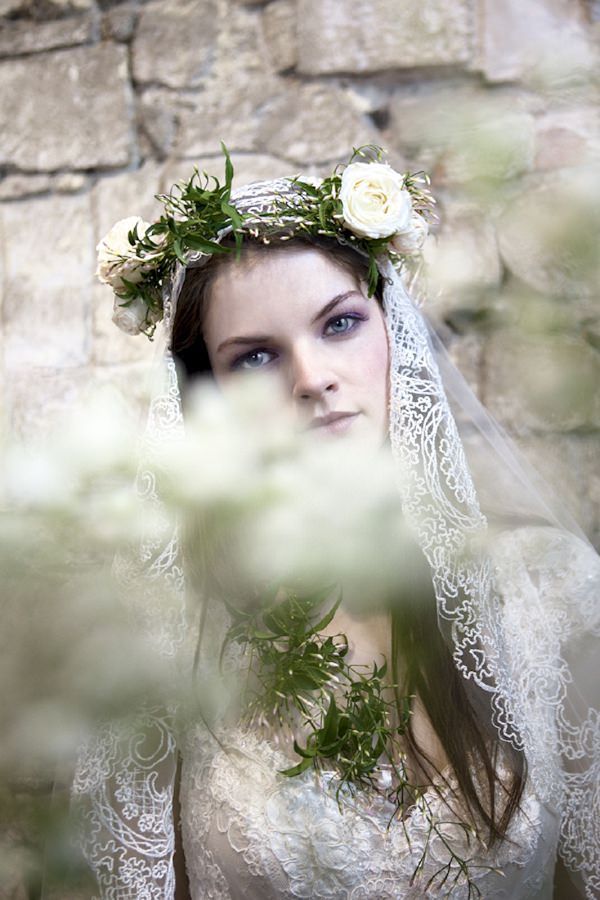 flower headdress halo crown