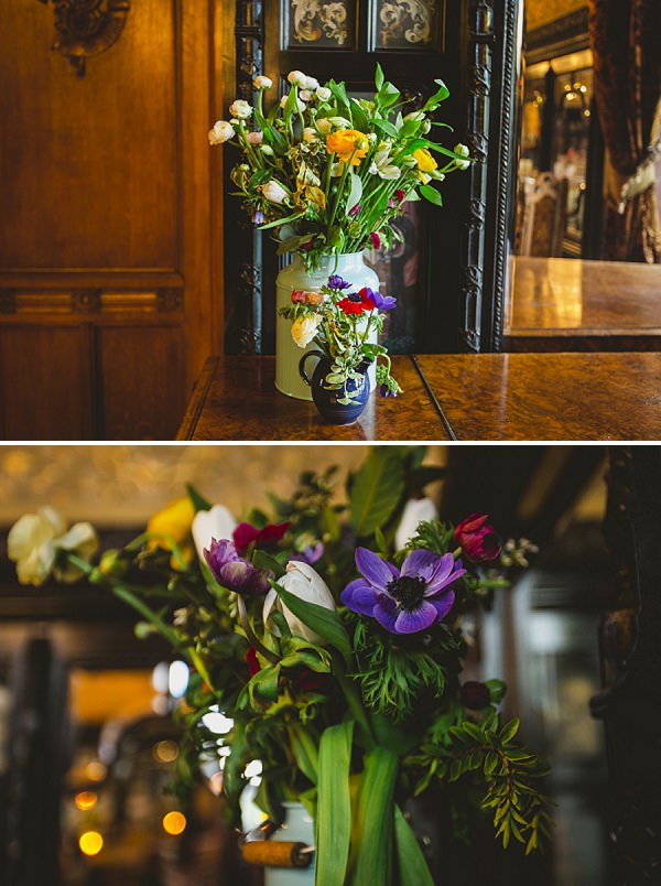 spring blooms wedding