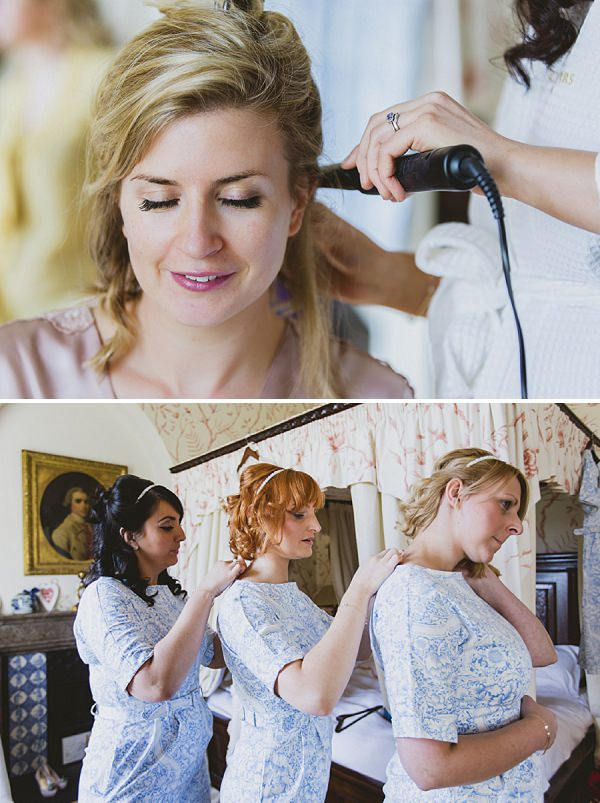 wedding bridal prep