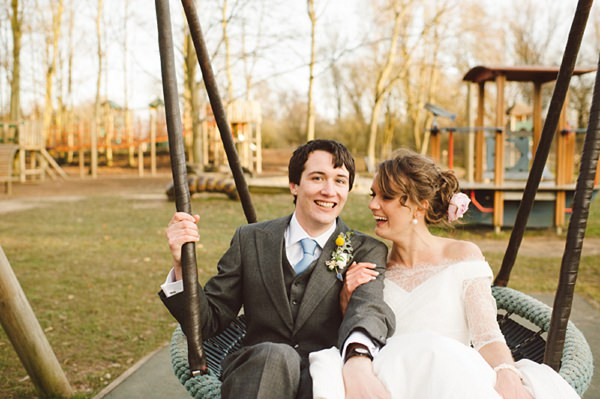 wedding swing playground