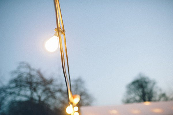 festoon lighting wedding