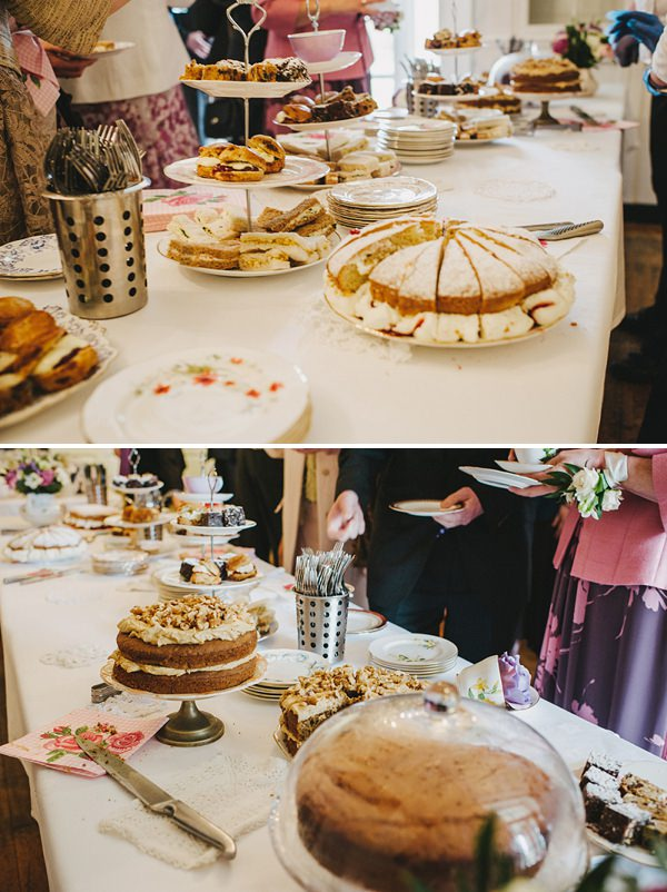 wedding afternoon tea cakes