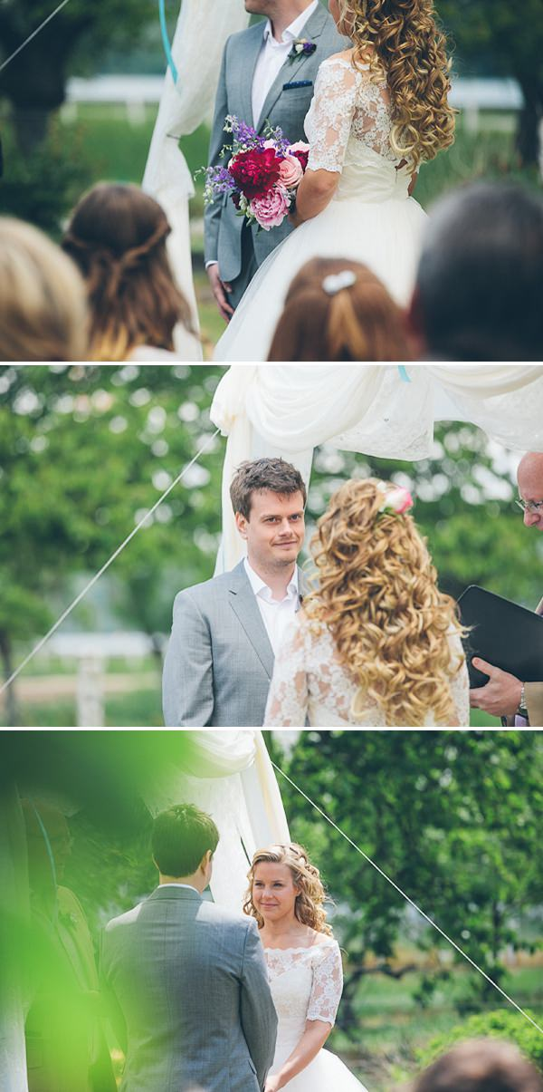 normandy outdoor wedding ceremony