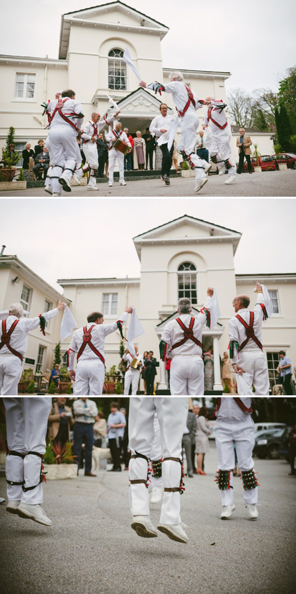 morris dancer wedding
