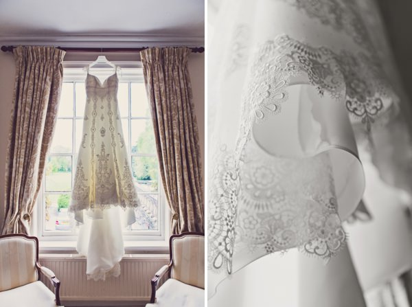 pronovias lace wedding dress http://www.clairepennphotography.com/