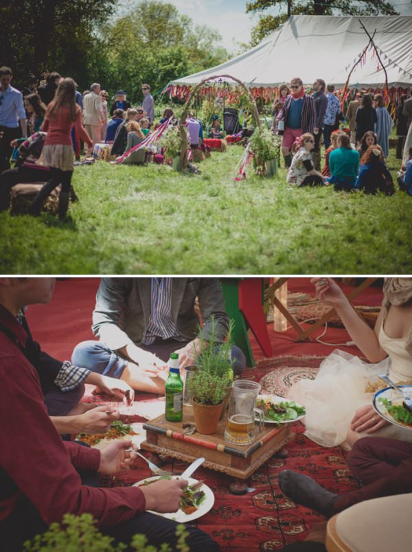 outdoor wedding ceremony uk http://elizaboophotography.com/