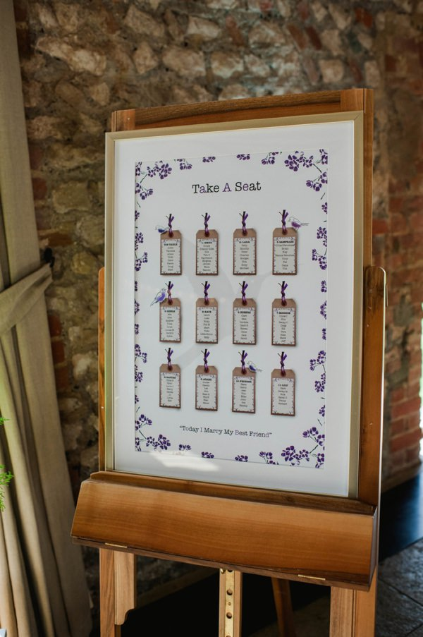 purple table plan http://www.alexa-loy.com/