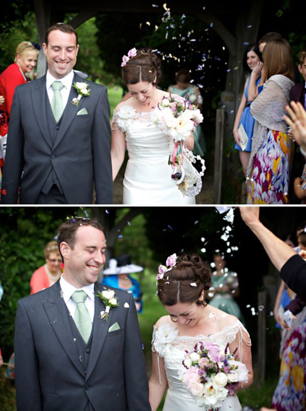 wedding confetti http://www.milkbottlephotography.co.uk/