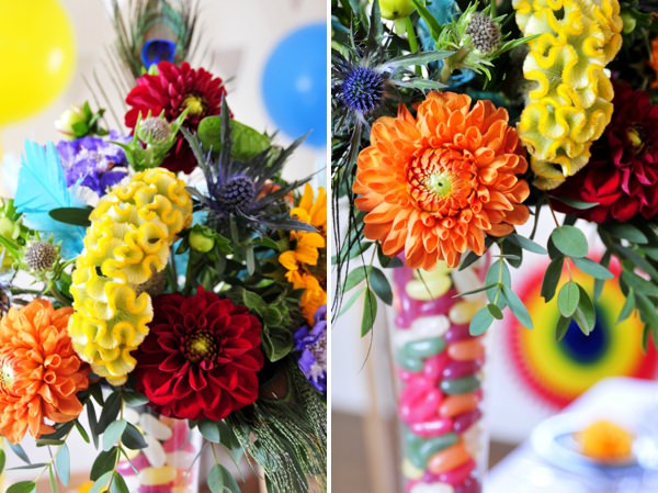 carnival wedding flower ideas http://www.jorichardsphotography.com/