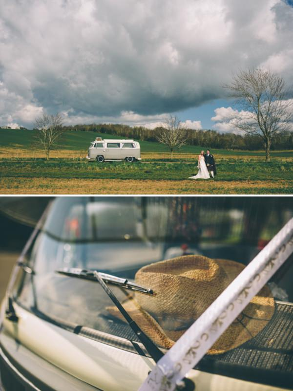 camper van wedding http://mattbrownphotography.co.uk/