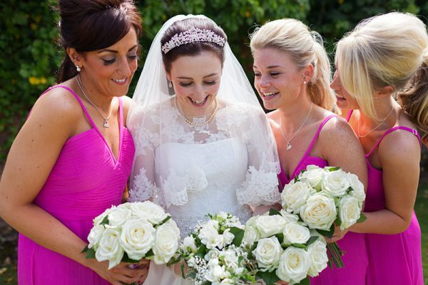 pink bridesmaid dresses http://www.victoriaphippsphotography.co.uk/