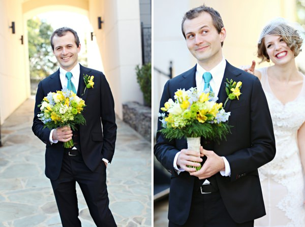dashing groom Glamorous Mill Wedding North Carolina http://whiteboxphoto.com/