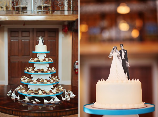 white wedding cake Glamorous Mill Wedding North Carolina http://whiteboxphoto.com/