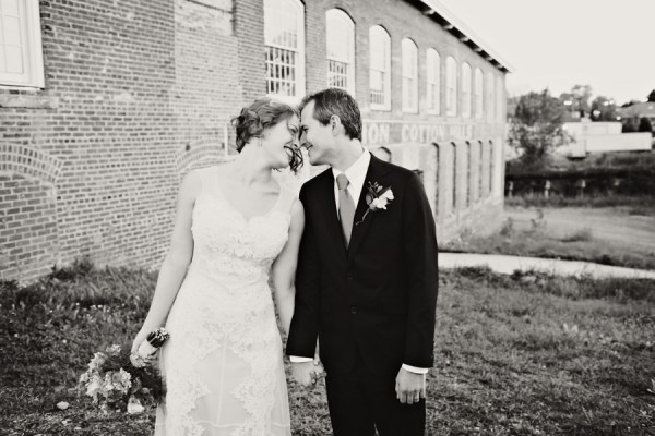 Glamorous Mill Wedding North Carolina http://whiteboxphoto.com/