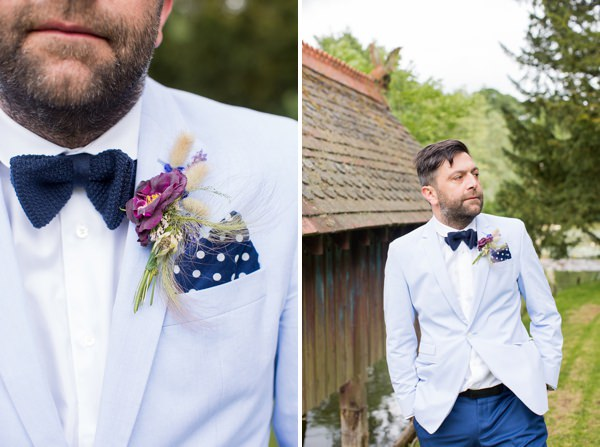 Mismatched Groom Style http://www.katherineashdown.co.uk/