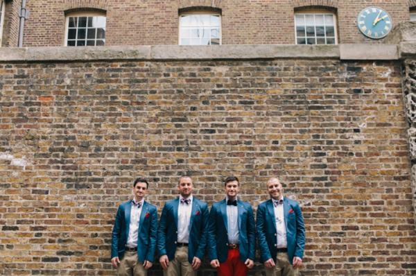 Red Trousers Groom http://www.weheartpictures.com/
