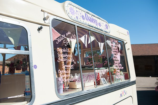 ice cream DIY Lillibrooke Manor Wedding http://fionasweddingphotography.co.uk/