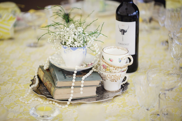 Bright Tea Party Yellow Wedding http://www.gemmawilliamsphotography.co.uk/