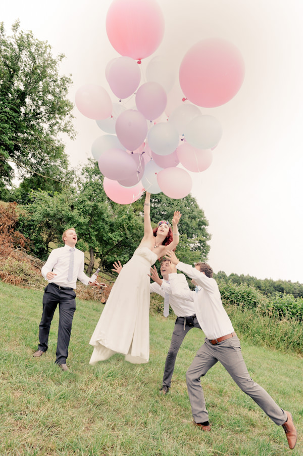 Balloons Natural Bohemian Vegan Yurt Wedding http://www.ctimages.co.uk/