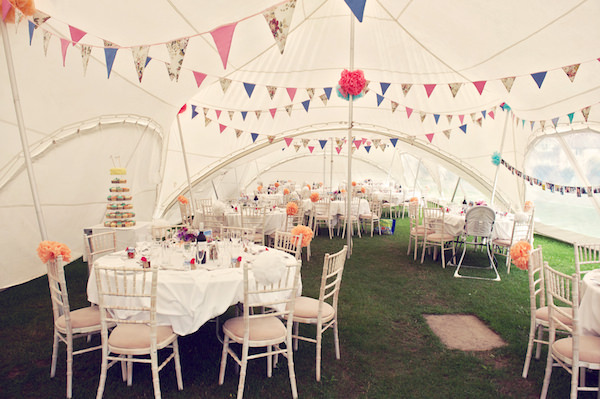 Marquee Decor Stylish Fun Humanist Wedding http://www.ruby-roux.com/