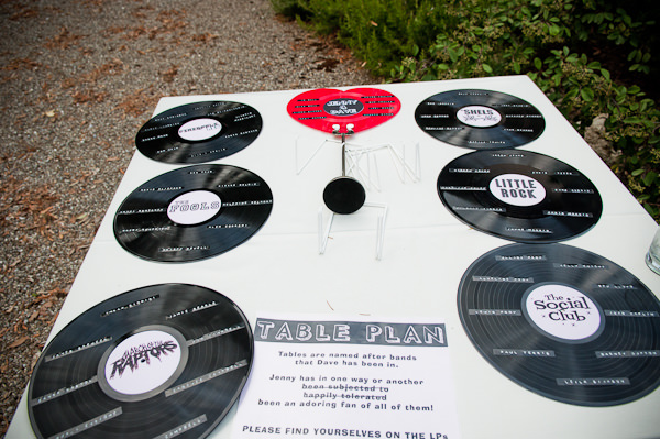Record Table Plan Romantic Tuscany Wedding http://stealthestagephotography.blogspot.co.uk/