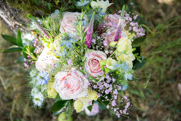 Pretty Natural Bouquet Pretty Marquee Wedding http://www.kategrayphotography.com/