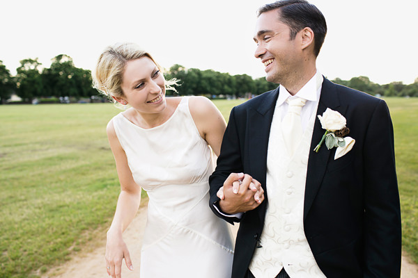 Chic Black Tie Hampton Court House Wedding http://www.clairestelle.com/