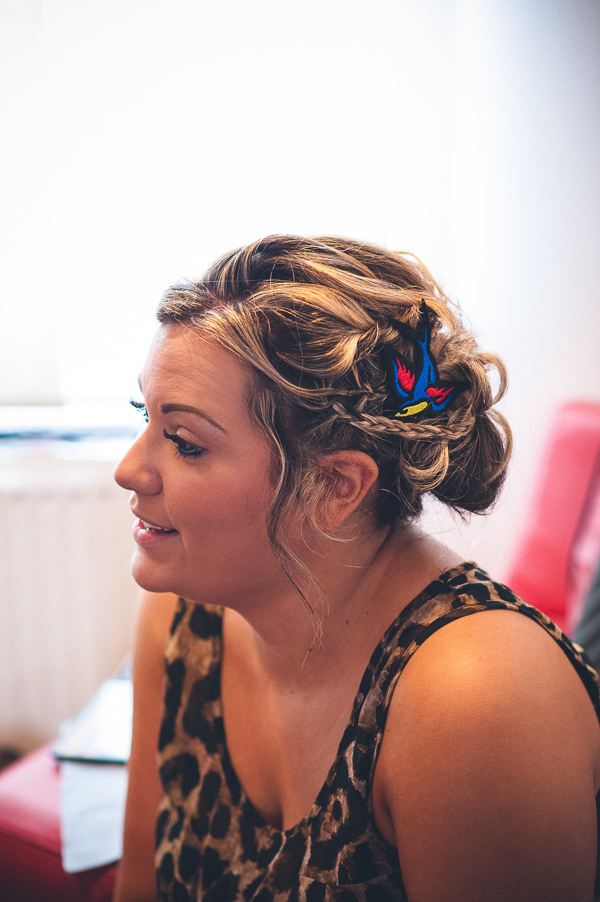Bridesmaid Hair Nautical Colourful Pirate Wedding http://www.mariannechua.com/