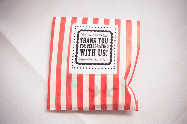 Sweetie Bag Favours Nautical Colourful Pirate Wedding http://www.mariannechua.com/