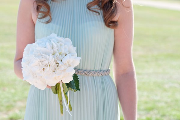 White Hydrangea Bouquet Chic & Relaxed Country Rustic Wedding http://www.sarareeve.com/