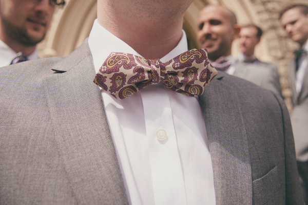 Sweet & Pretty Homemade Wedding Groom Bow Tie http://www.tohave-toholdphotography.co.uk/