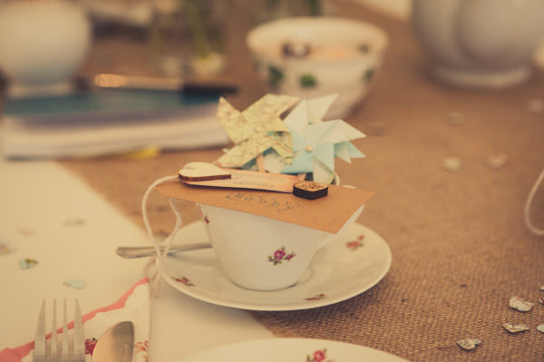 Fun Map Inspired Wedding Tea Cups Pinwheels http://karibellamy.com/