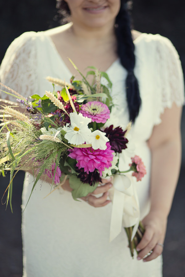 Magical Turquoise Beach Wedding Wild Bouquet Wheat http://www.mariannetaylorphotography.co.uk/