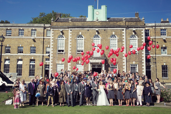 Chic City Film Wedding Balloon Release http://marthaandgeorge.com/