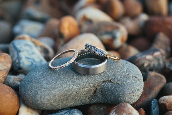 Brighton Sea Front Sequin Glitter Wedding Engagement Rings http://www.redonblonde.com/
