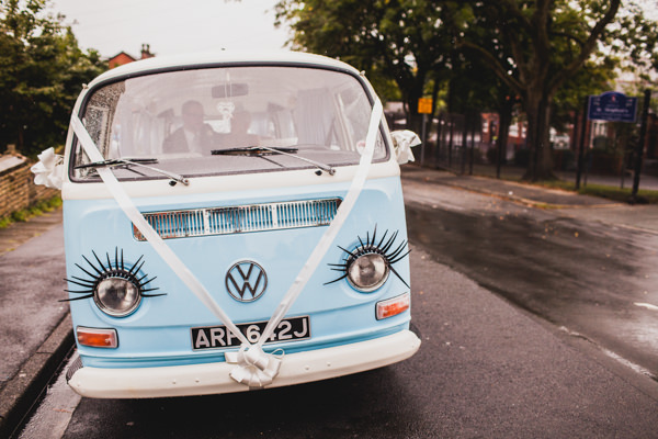 Alice in Wonderland Wedding VW Camper http://www.lucylittle.co.uk/