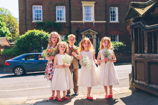 1950s Vintage Floral Hand Made Wedding Flowergirls Pageboys http://www.andyli-photography.com/