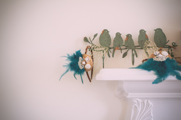 Country Vintage Homemade Wedding Hairpieces Bridesmaids http://www.sophieduckworthphotography.com/