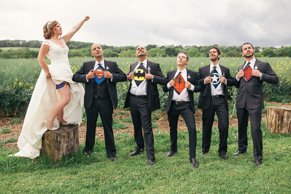 Fun Superhero Wedding http://hollydeacondesign.com/