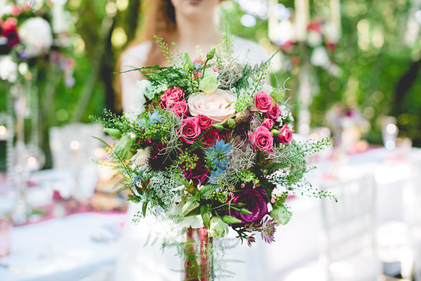 Magical Woodland Wedding Ideas Bridal Bouquet http://www.kanashay.com/