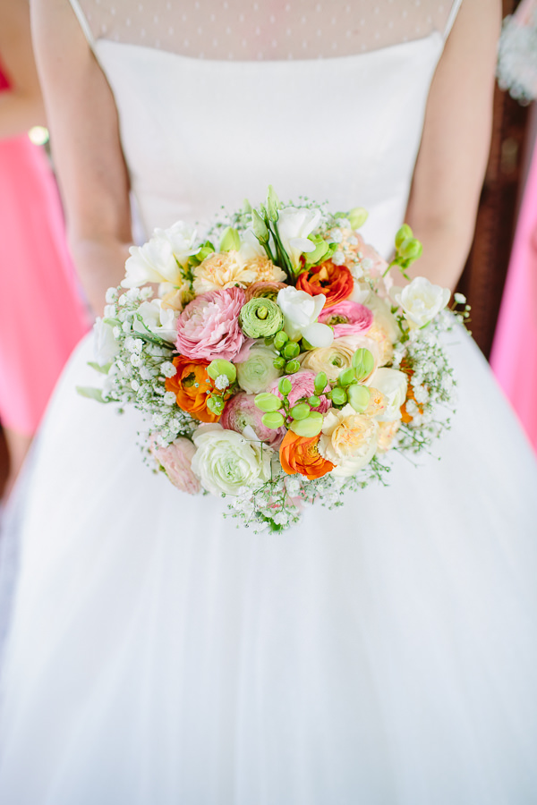 Bright Beautiful Spring Wedding Bouquet Bridal http://kategrayphotography.com/