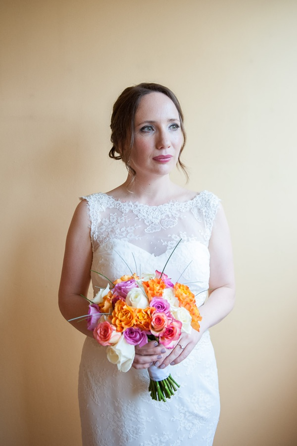 Multicoloured Pom Pom Lido Cafe Wedding Pretty Natural Fresh Bride http://fionasweddingphotography.co.uk/