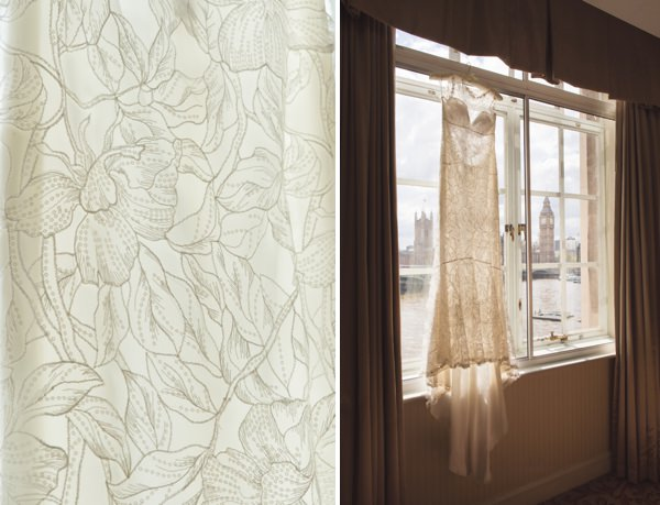 Claire Pettibone 'Sky Between Branches' Dress Floral Elegant London Wedding  http://www.georgimabee.com/