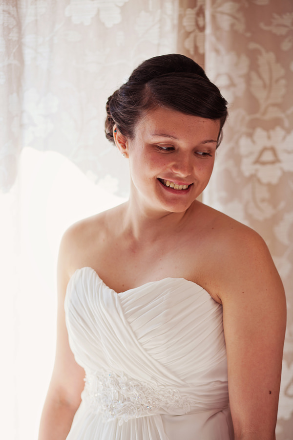 Funfair Farm DIY Wedding Pretty Bride Up Do Hair Style http://www.kathrynedwardsphotography.com/