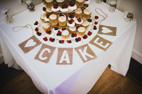 Eclectic Quirky Wedding Cake Table Sign http://www.claudiarosecarter.co.uk/